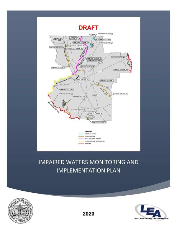 [IMPAIRED WATERS MONITORING AND IMPLEMENTATION PLAN]