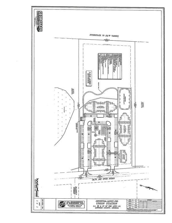 [Conceptual Layout for Union Station on Union Road]
