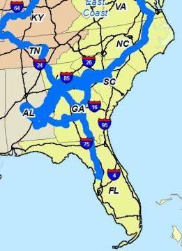 [Detail: U.S. Southeast LNG Movements]